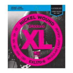 D'ADDARIO EXL170 6 - Струны для бас-гитары Даддарио