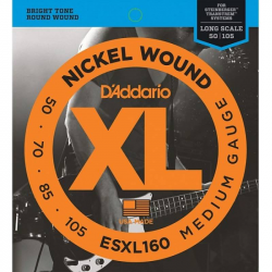 D'ADDARIO ESXL160 - Струны для бас-гитары headless Даддарио