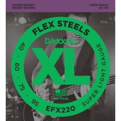 D'ADDARIO EFX 220 - Струны для бас-гитары Даддарио