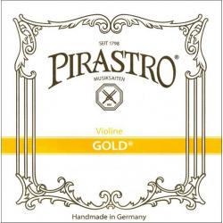 Gold 215025 Violin Комплект струн для скрипки (жила), Pirastro