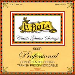 LA BELLA 500P - Струны для классической гитары Ла Белла
