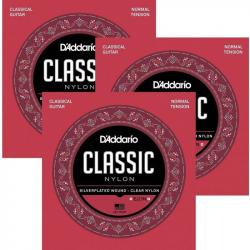 D'ADDARIO EJ27 N-3D - Струны для классической гитары Даддарио