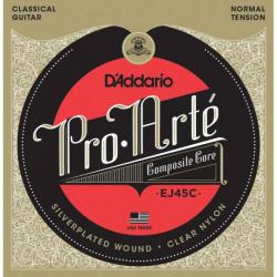 D'ADDARIO EJ45 C - Струны для классической гитары Даддарио