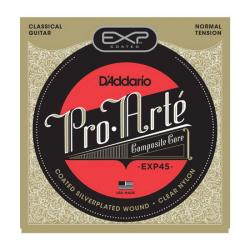 D'ADDARIO EXP45 - Струны для классической гитары Даддарио