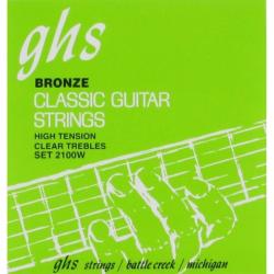GHS 2100W - Струны для классической гитары Джиэйчэс