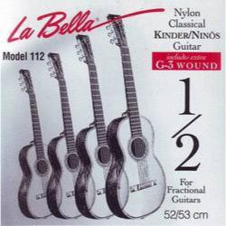 LA BELLA FG112 - Струны для классической гитары Ла Белла