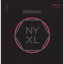 D'ADDARIO NYXL0942 -3P - Струны для электрогитары Даддарио