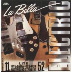 LA BELLA 20PL - Струны для электрогитары Ла Белла