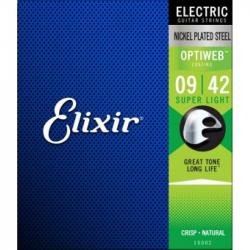 ELIXIR 19002 - Струны для электрогитары Эликсир
