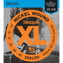 D'ADDARIO ESXL110 - Струны для электрогитары headless Даддарио