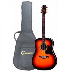 CRAFTER D-8 TS Чехол - Акустическая гитара Крафтер
