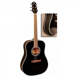FLIGHT AD-200 BK - Акустическая гитара Флайт