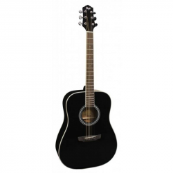 FLIGHT D-200 BK - Акустическая гитара Флайт
