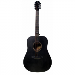 FLIGHT D-435 BK - Акустическая гитара Флайт