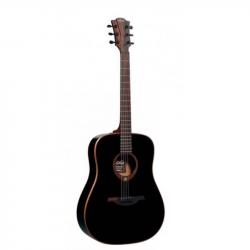LAG GLA T100D BLK - Акустическая гитара Лаг