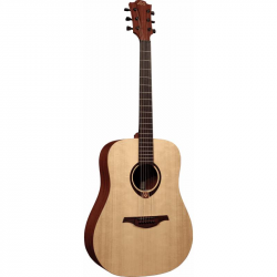 LAG GLA T70D-HIT -акустическая гитара со встроенным тюнером