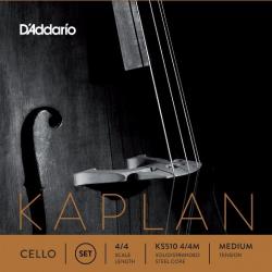 Струны для виолончели D'ADDARIO BOWED KS510 4/4M