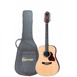 CRAFTER D-8-12 /N Чехол - Акустическая гитара 12-струнная Крафтер