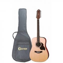 CRAFTER D-8-12EQ N+Чехол - Электроакустическая гитара 12-струнная