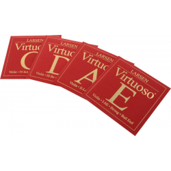 Комплект струн для скрипки Larsen Virtuoso Strong E/BE