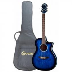 CRAFTER FC-550EQ MS Чехол - Электроакустическая гитара шестиструнная