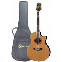 CRAFTER GAE-18 CD/N Чехол - Электроакустическая гитара шестиструнная