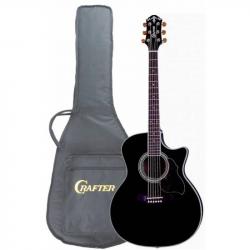 CRAFTER GAE-8 BK Чехол - Электроакустическая гитара шестиструнная