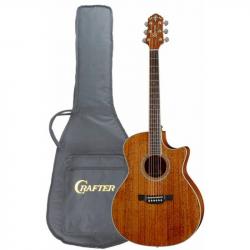 CRAFTER GAE-8 MH/BR Чехол - Электроакустическая гитара шестиструнная