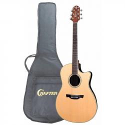 CRAFTER WB-700CE NT Чехол - Электроакустическая гитара шестиструнная