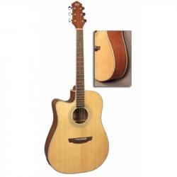 FLIGHT AD-200 CEQ NA LH - Электроакустическая гитара для левшей Флайт