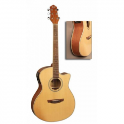 FLIGHT AG-210 CEQ NA - Электроакустическая гитара шестиструнная Флайт