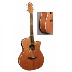 FLIGHT AG-300 CEQ NS - Электроакустическая гитара шестиструнная Флайт