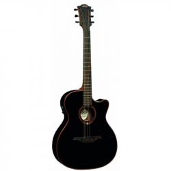 LAG GLA T100ACE BLK - Электроакустическая гитара шестиструнная Лаг