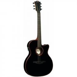 LAG T100ASCE BLK - Электроакустическая гитара шестиструнная Лаг