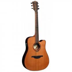 LAG T100DCE - Электроакустическая гитара шестиструнная Лаг