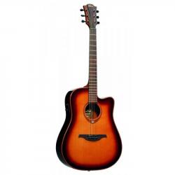 LAG T100DCE BRS - Электроакустическая гитара шестиструнная Лаг