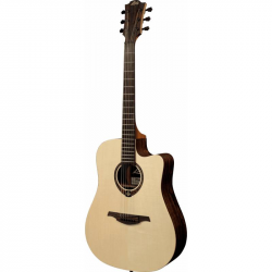 LAG T270DCE - Электроакустическая гитара, Дредноут Лаг