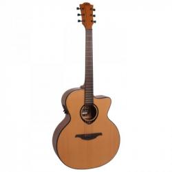 LAG T66JCE - Электроакустическая гитара шестиструнная Лаг