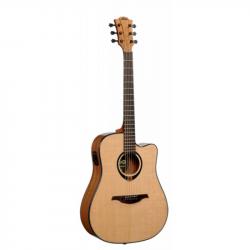 LAG T80DCE - Электроакустическая гитара шестиструнная Лаг