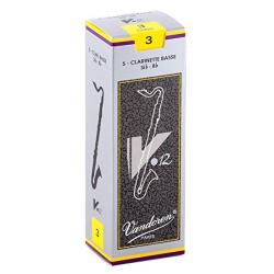 Трости для бас-кларнета, v12, №3 (5 шт) Vandoren