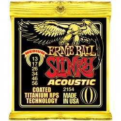 Струны для акустических гитар Ernie Ball P02154