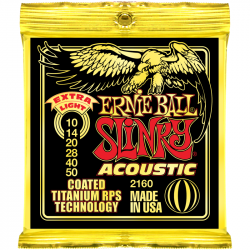 Струны для акустических гитар Ernie Ball P02160