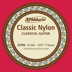 D'Addario J2704 Отдельная 4-ая струна для классической гитары
