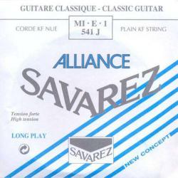 1-я струна для классической гитары SAVAREZ 541J Alliance Bleu