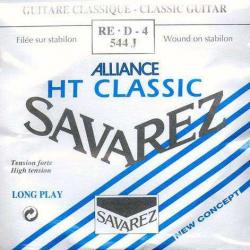 4-я струна для классической гитары SAVAREZ 544J HT Classic Bleu