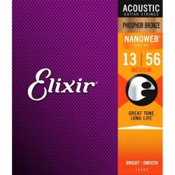 ELIXIR 11162 - СТРУНЫ ДЛЯ 12-ТИ СТРУННОЙ АКУСТИЧЕСКОЙ ГИТАРЫ ЭЛИКСИР
