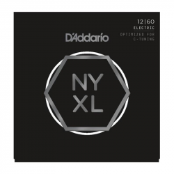 D'ADDARIO NYXL1260 - СТРУНЫ ДЛЯ ЭЛЕКТРОГИТАРЫ ДАДДАРИО