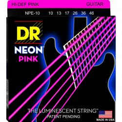 DR Strings NPE-10 Medium струны для электрогитары