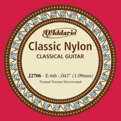 D'Addario J2706 Classical  6-ая струна для классической гитары