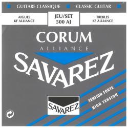 Струны для классической гитары Savarez 500AJ